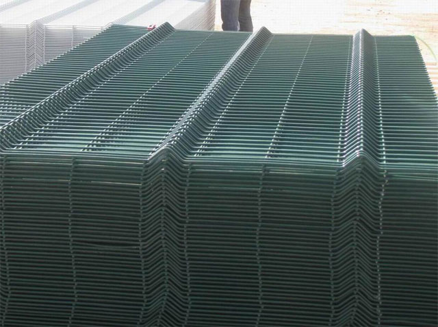Green fence wires in Lagos form Bisi-Best Nigeria Limited